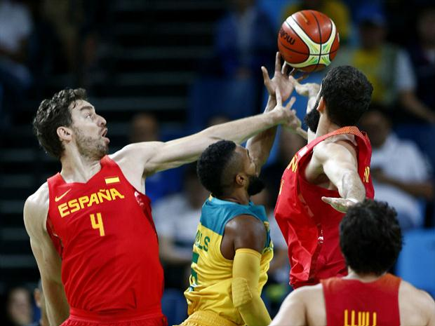 Espanha venceu a Austrália pelo apertado placar de 89 a 88 e ficou com a  medalha 3f5de90b1e16e